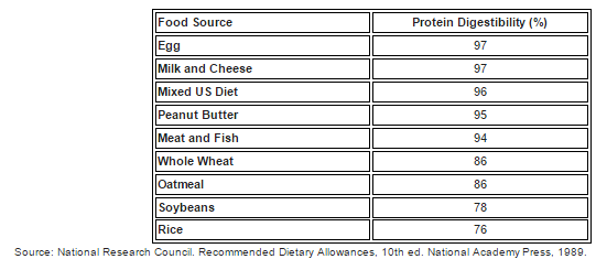 proteindigestio